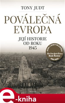 Obálka titulu Poválečná Evropa