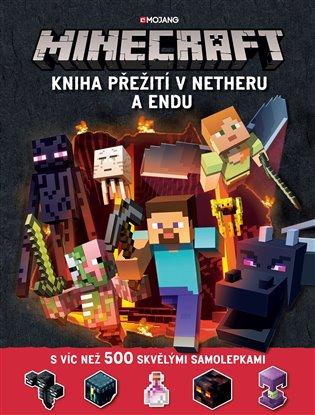 Minecraft - Kniha přežití v Netheru a Endu - Stephanie Milton   Booksquad.ink