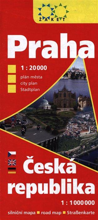 Praha 1:20 000 + Česká republika 1:1 000 000 - - | Booksquad.ink