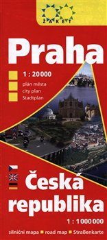 Praha 1:20 000 + Česká republika 1:1 000 000