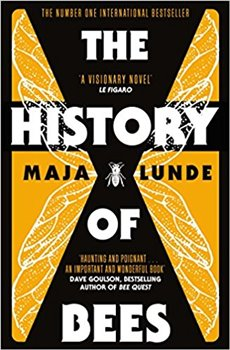 Obálka titulu The History of Bees