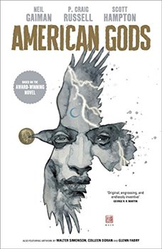 Obálka titulu American Gods: Shadows: Adapted for the first time in stunning comic book form