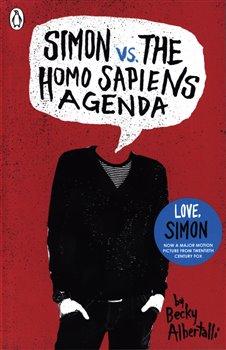 Obálka titulu Simon vs. the Homo Sapiens Agenda