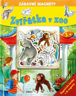 Zvířátka v Zoo. Zábavné magnetky