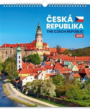 Nástěnný kalendář Česká republika 2019 - - | Booksquad.ink