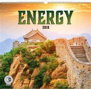 Nástěnný kalendář Energie 2019 - - | Booksquad.ink