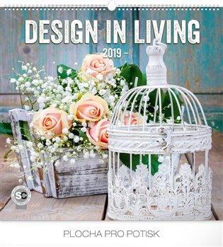 Nástěnný kalendář Design in Living 2019 - - | Booksquad.ink