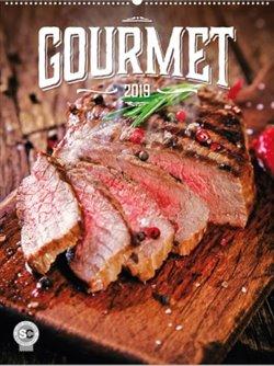 Obálka titulu Nástěnný kalendář Gourmet 2019