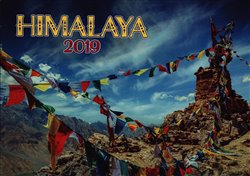 Obálka titulu Nástěnný kalendář Himálaje 2019