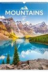 Obálka knihy Nástěnný kalendář Hory 2019
