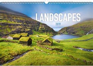 Nástěnný kalendář Krajiny 2019 - - | Booksquad.ink
