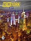 Obálka knihy Nástěnný kalendář New York 2019