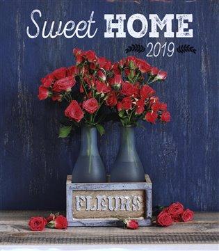 Nástěnný kalendář Sweet home 2019 - -   Booksquad.ink