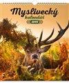 Obálka knihy Nástěnný kalendář Myslivecký 2019
