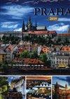 Obálka knihy Nástěnný kalendář Praha 2019