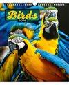 Obálka knihy Nástěnný kalendář Ptáci 2019