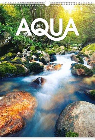 Nástěnný kalendář Voda 2019 - - | Booksquad.ink