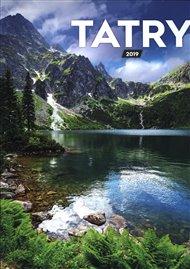 Nástěnný kalendář Tatry 2019