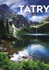 Obálka knihy Nástěnný kalendář Tatry 2019