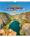 Obálka knihy Nástěnný kalendář Toulky českou krajinou 2019