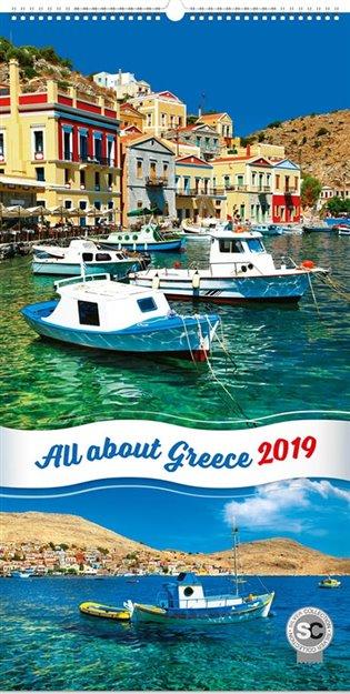 Nástěnný kalendář Zaostřeno na Řecko 2019 - -   Booksquad.ink
