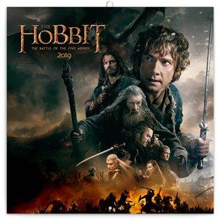 Poznámkový kalendář Hobbit 2019 - - | Booksquad.ink