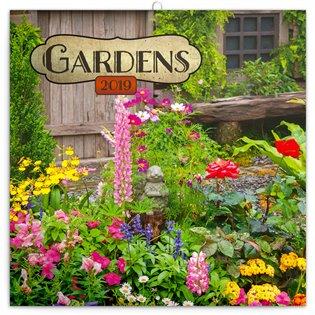 Poznámkový kalendář Zahrady 2019 - - | Booksquad.ink