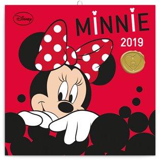 Poznámkový kalendář Minnie 2019 - - | Booksquad.ink