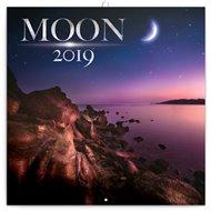 Poznámkový kalendář Měsíc 2019