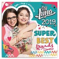 Poznámkový kalendář Super Best friends Soy Luna 2019