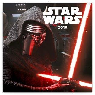 Poznámkový kalendář Star Wars 2019 - - | Booksquad.ink