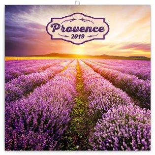 Poznámkový kalendář Provence 2019, voňavý - - | Booksquad.ink