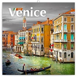 Poznámkový kalendář Benátky 2019 - - | Booksquad.ink