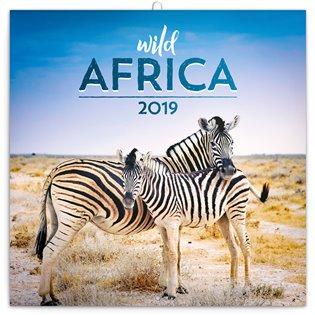 Poznámkový kalendář Divoká Afrika 2019 - - | Booksquad.ink
