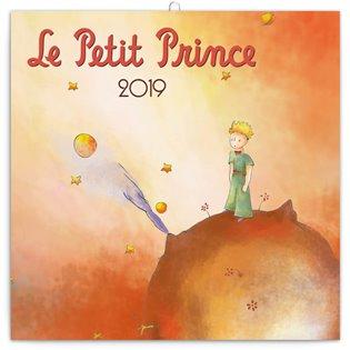 Poznámkový kalendář Malý princ 2019 - -   Booksquad.ink