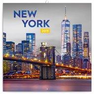 Poznámkový kalendář New York 2019