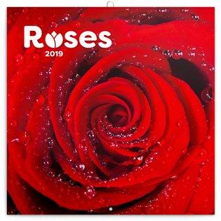 Poznámkový kalendář Růže 2019, voňavý - - | Booksquad.ink