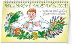 Obálka titulu Stolní bylinkový kalendář – Kamila Skopová 2019