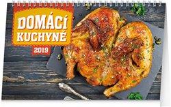 Obálka titulu Stolní kalendář Domácí kuchyně 2019