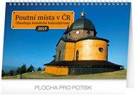Stolní kalendář Poutní místa v ČR 2019