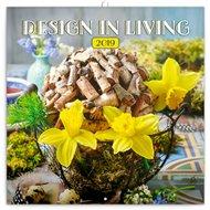 Poznámkový kalendář Design in Living 2019