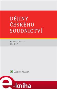 Obálka titulu Dějiny českého soudnictví