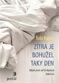 Můžeme se nemoci, jakou je deprese, smát a žertovat o ní? Tobi Katze (1981) píše povídky, eseje, básně a scénáře. Více než deset let vystupuje v rámci velmi populárních poetry slamů. Získal několik literárních ocenění. V roce 2014 začal psát na webových stránkách časopisu Stern blog o svém životě s depresí.