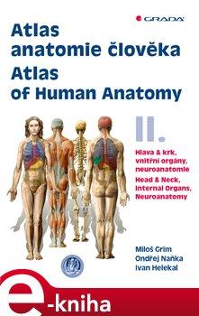 Obálka titulu Atlas anatomie člověka II. - Atlas of Human Anatomy II.