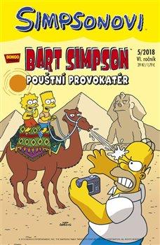 Obálka titulu Bart Simpson 5/2018: Pouštní provokatér