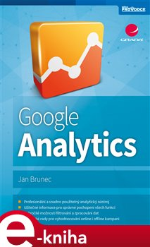 Obálka titulu Google Analytics