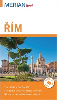 Obálka titulu Řím - Merian Live!