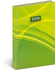 Denní diář Cambio 2019, zelený