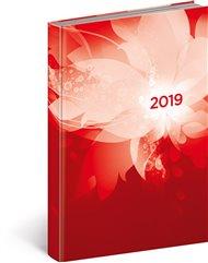 Denní diář Cambio 2019, červený