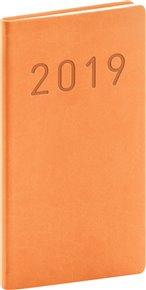 Kapesní diář Vivella Fun 2019, oranžový